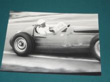 Maserati 250F Strling Moss . Original 1950's A R Smith photo